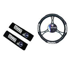 New NFL New York Giants Car Truck Steering Wheel Cover Seat