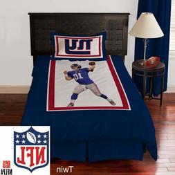 NEW NFL New York Giants Eli Manning 3-piece Bedding Comforte
