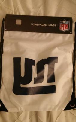 New NFL New York Giants gym bag/ drawstring bag/ back sack