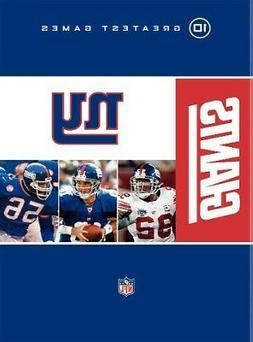 NEW YORK GIANTS 10 GREATEST GAMES New Sealed 10 DVD Set