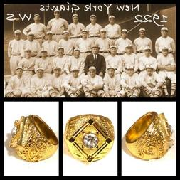 New York Giants 1922 Championship Ring Size 10.5