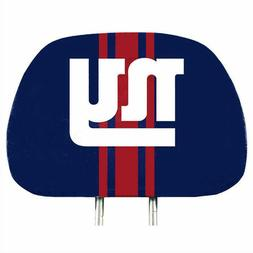 New York Giants 2-Pack Color Print Auto Car Truck Headrest C
