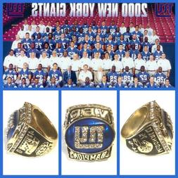 New York Giants 2000 NFC Championship Ring Size 11