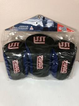 New York Giants 3 Pack Long Neck Golf Club Head Covers with