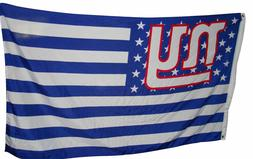 New York Giants 3x5 Ft American Flag Football  New In Packag