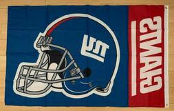 New York Giants 3x5 ft Flag Banner NFL