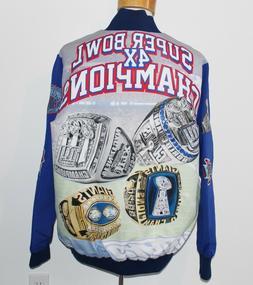 New York Giants 4x Super Bowl Champion FANIMATION JACKET Men