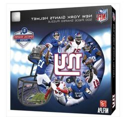 New York Giants 500 Piece Helmet Shaped Jigsaw Puzzle New In