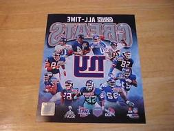 New York Giants All Time Greats Off. LICENSED 8X10 Photo FRE