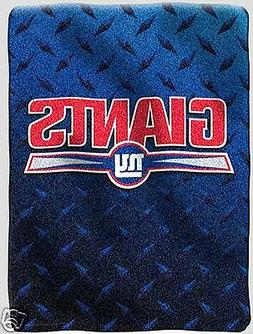 New York Giants blanket bedding 60x80 thick PLUSH we ship in