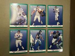 New York Giants / California Angels 1991 Fleer Wrongback FB
