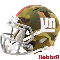 New York Giants Camo Alternate Riddell Speed Mini Helmet New
