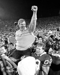 New York Giants Coach BILL PARCELLS Glossy 8x10 Photo Super