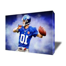 New York Giants ELI MANNING Poster Photo Painting Artwork on