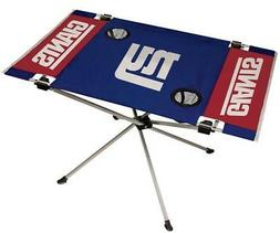 New York Giants Endzone Tailgate Table  NFL Portable Chair F