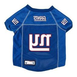 New York Giants Extra Small Pet Jersey  NFL Dog Puppy Shirt