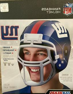New York Giants Fan Head Wearable Authentic Licensed NFL Rep