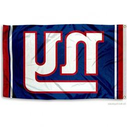 NEW YORK GIANTS FLAG 3'X5' NFL LOGO BANNER: FREE SHIPPING