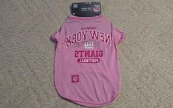 New York Giants Football NFL LARGE Team Jersey Pet Wear for