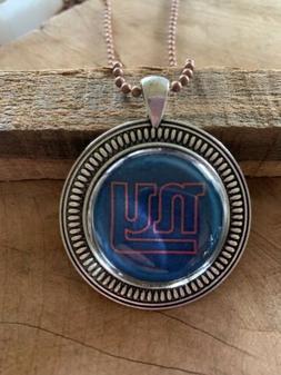 New York giants Football Pendant/ Charm/ Jewelry/ NFL / Neck