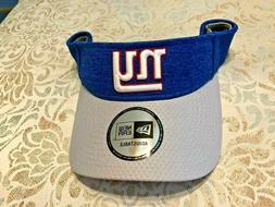 NEW YORK GIANTS FOOTBALL TEAM FAN - VISOR - NEW