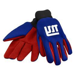 New York Giants Gloves Sports Logo Utility Work Garden NEW C