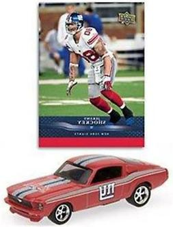 New York Giants Jeremy Shockey 1:64 1967 Ford Mustang Fastba