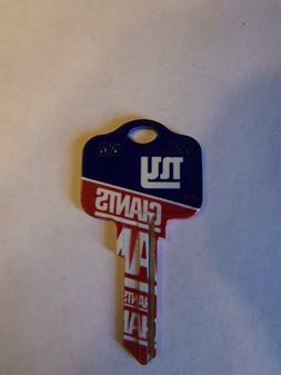 New York Giants  Kwikset KW1 house key blank