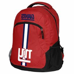 New York Giants Logo Action BackPack School Bag Back pack Gy