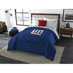 NFL New York Giants Mascot Twin & Full Bedding Comforter Set