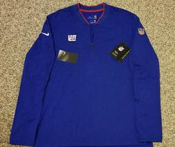 New York Giants Medium Nike NFL Onfield Apparel pullover! Ne
