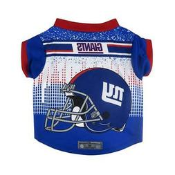 New York Giants Large Pet Performance T Shirt  Dog Puppy Jer
