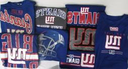 New York Giants Men's Big & Tall XLT-8XL 2 T-SHIRTS! *MYSTER