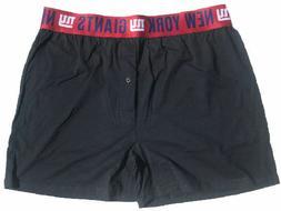 New York Giants Mens Grey Oversized Title Boxer Shorts