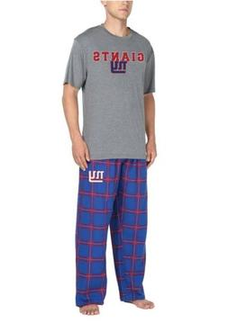 NFL Team Apparel New York Giants Men's Sleep Set Size Larg
