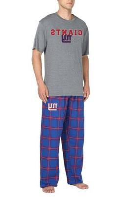NFL Team Apparel New York Giants Men's Sleep Set Sz XL