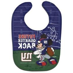 NEW YORK GIANTS MICKEY MOUSE BABY BIB DISNEY NFL OFFICIALLY