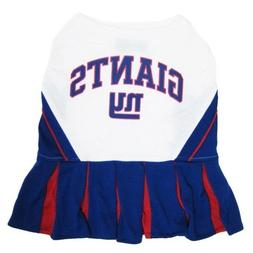 New York Giants NFL Cheerleader Dog Pet Dress Outfit Sizes X