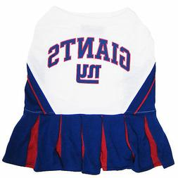 Pets First New York Giants NFL Cheerleader Outfit