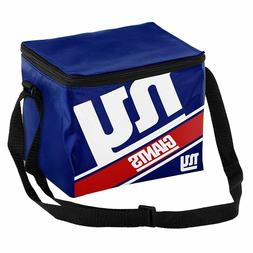 New York Giants Official NFL Cooler 6 Pack Ice Box Lunch Bag