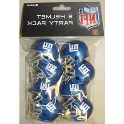 NEW YORK GIANTS NFL Cupcake / Cake Topper Mini Football Helm