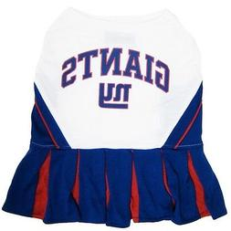 New York Giants NFL Dog Pet Cheerleader Dress