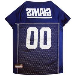New York Giants NFL Dog Pet Mesh Jersey