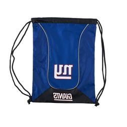 New York Giants NFL Doubleheader Backsack -  drawstring Bag