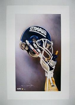 "New York Giants NFL Football 20"" x 30"" Team Lithograph Print"
