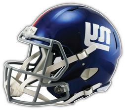 New York Giants NFL Helmet Car Bumper Sticker Decal - 3'' or