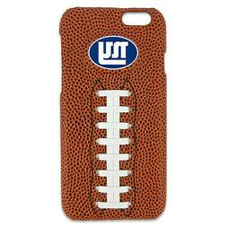NEW YORK GIANTS NFL IPHONE 6 GENUINE FOOTBALL LEATHER CASE