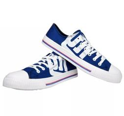 NEW YORK GIANTS NFL MENS LOW TOP CANVAS SNEAKERS/SHOES SIZE