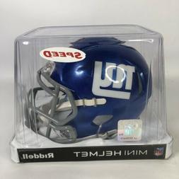 New York Giants Riddell NFL Mini Revolution Speed Helmet