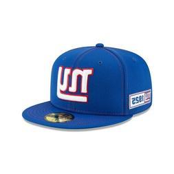 New York Giants NFL On-Field New Era 59FIFTY '25 Established